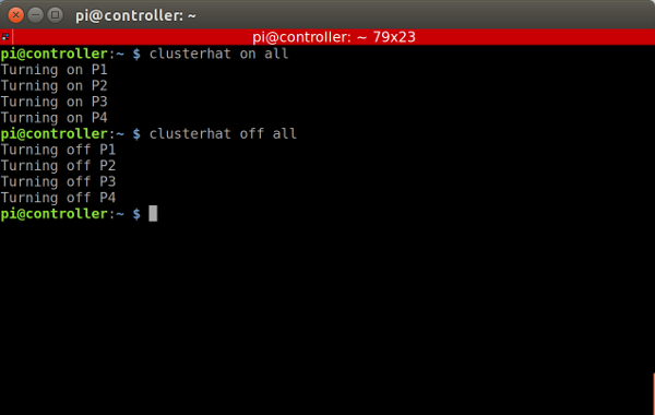 Cluster Hat Terminal